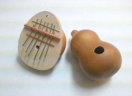ひょうたんの楽器